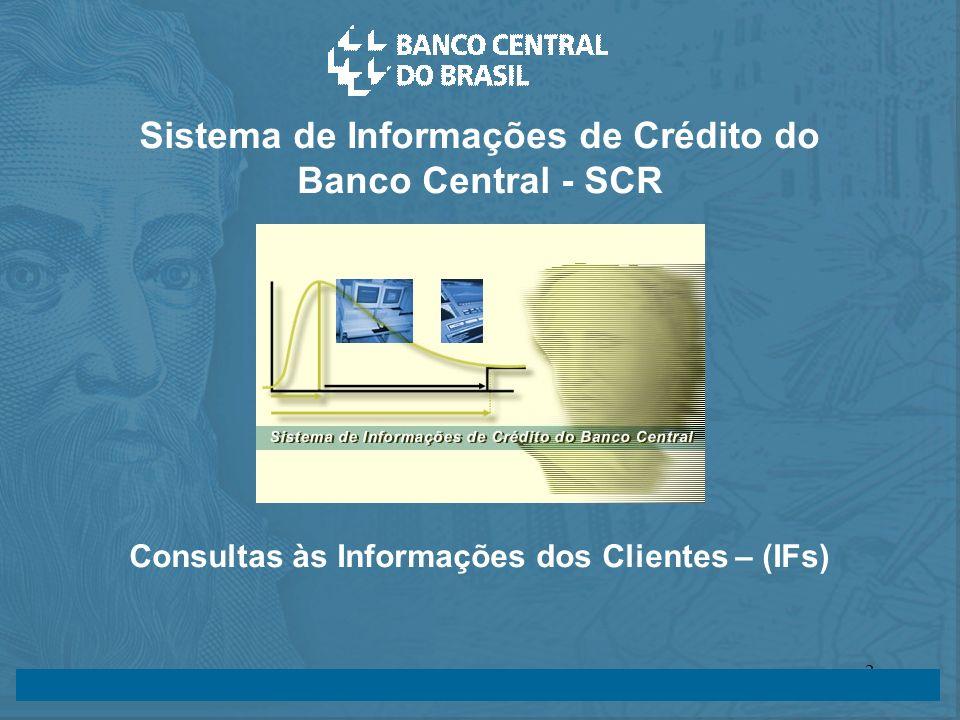 Sistema de Informações de Crédito do Banco Central - SCR