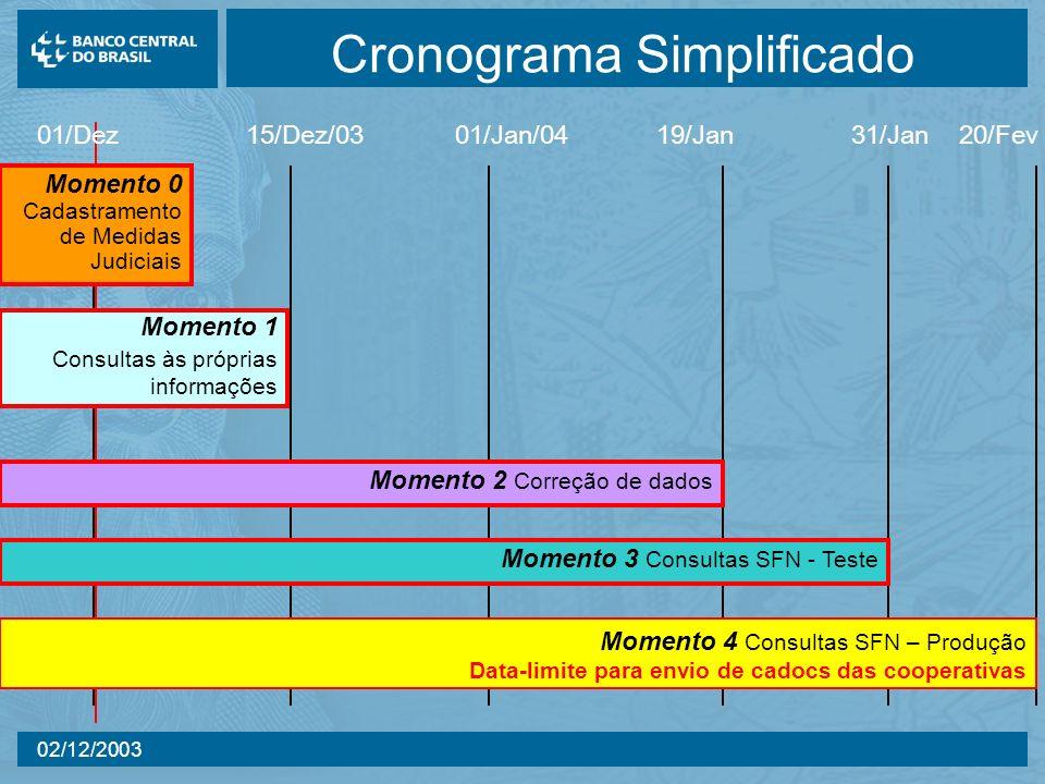 Cronograma Simplificado