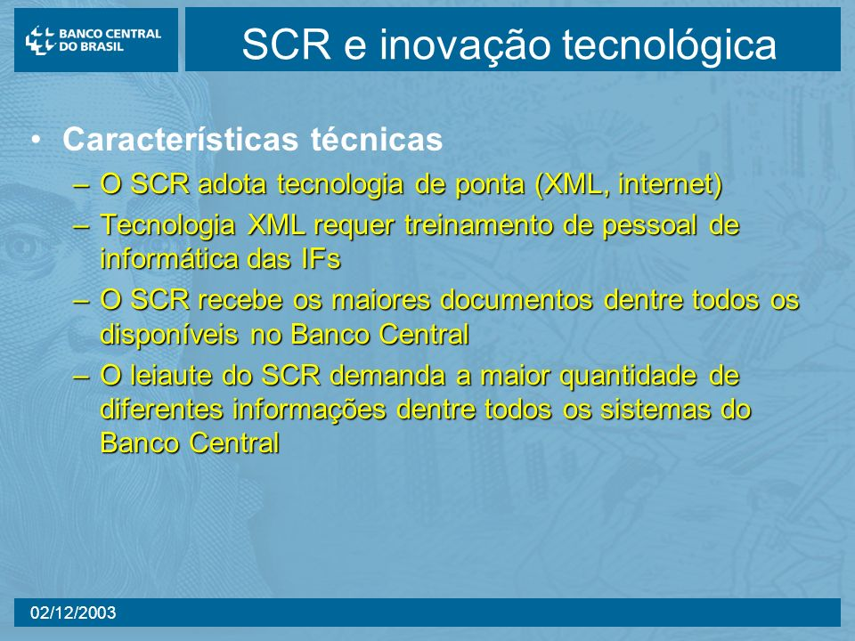 SCR e inovação tecnológica