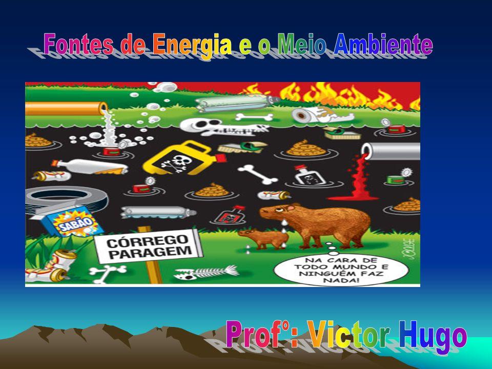 Fontes de Energia e o Meio Ambiente