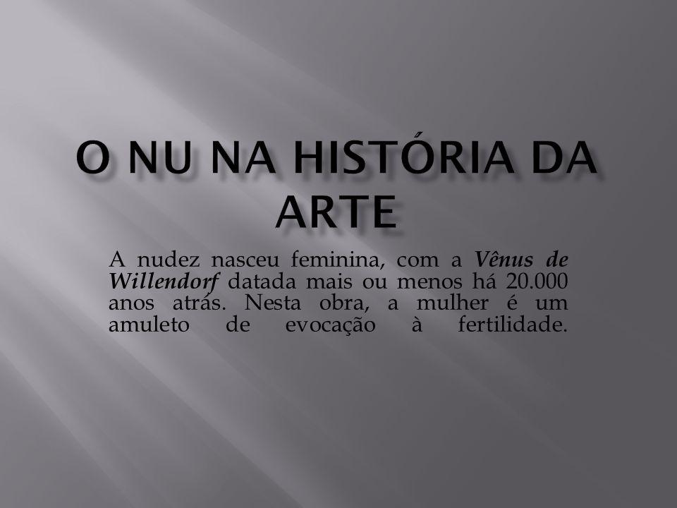 O nu na história da arte