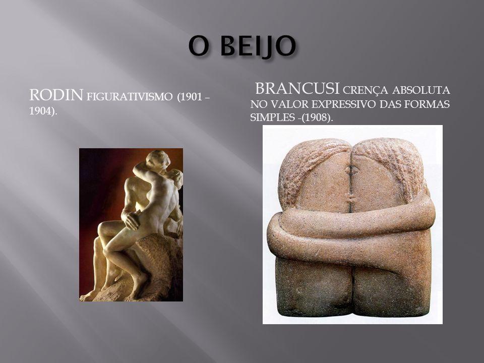 O BEIJO RODIN Figurativismo (1901 – 1904).