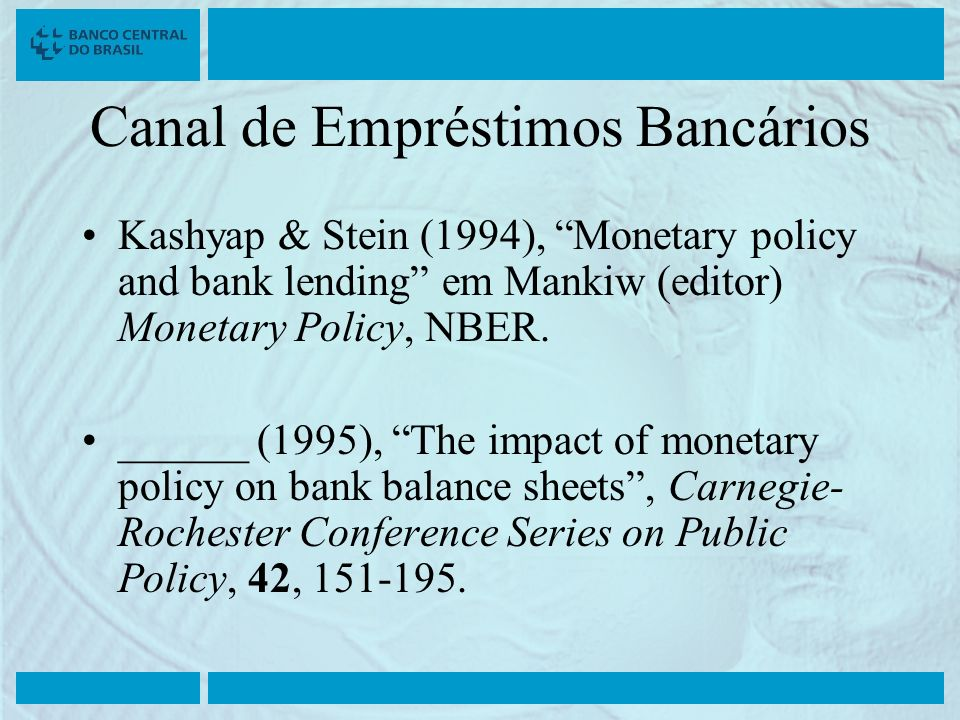 Canal de Empréstimos Bancários