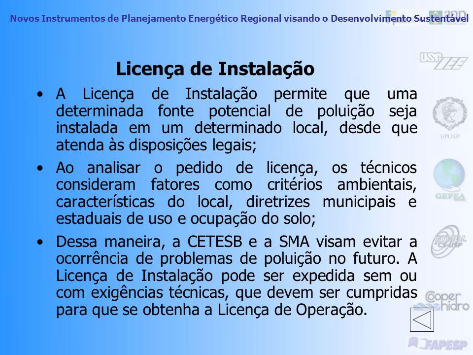Licença de Instalação