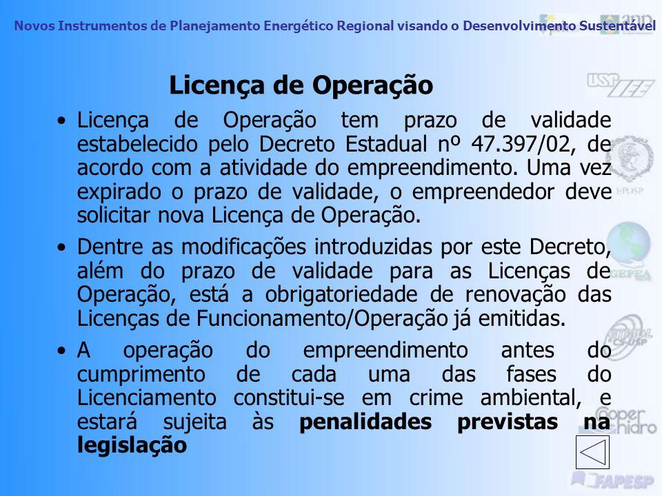 Licença de Operação