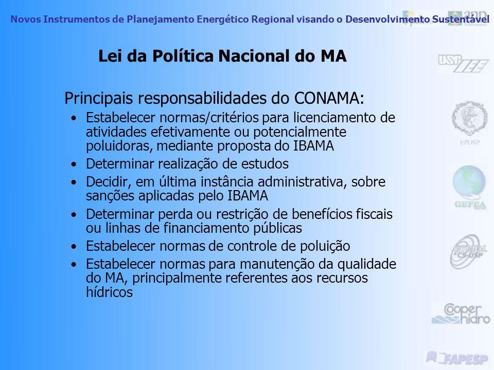 Lei da Política Nacional do MA