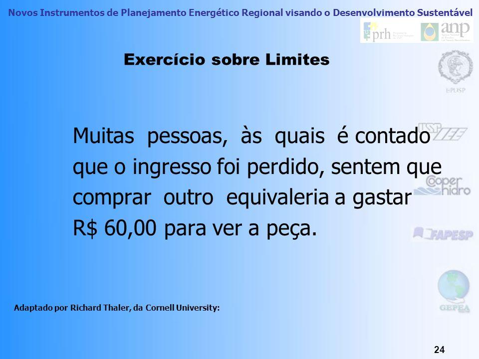 Exercício sobre Limites