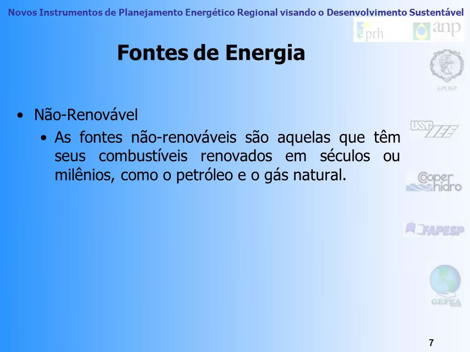 Fontes de Energia Não-Renovável