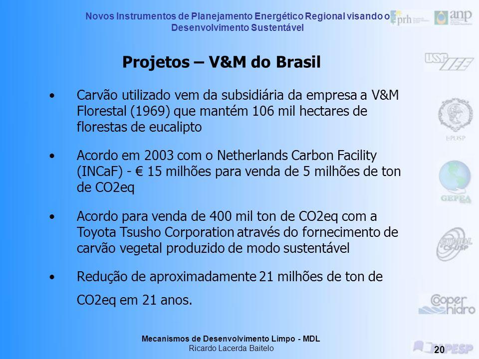 Projetos – V&M do Brasil