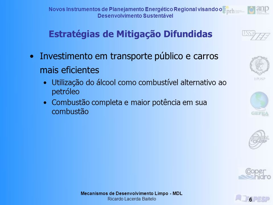 Estratégias de Mitigação Difundidas