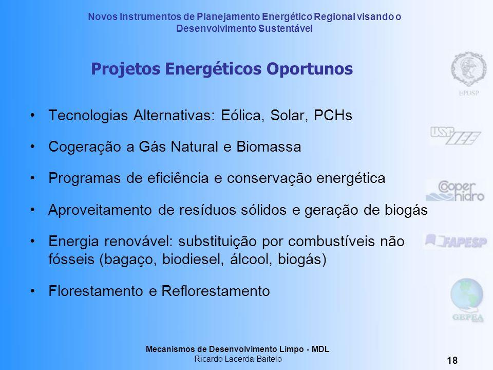 Projetos Energéticos Oportunos