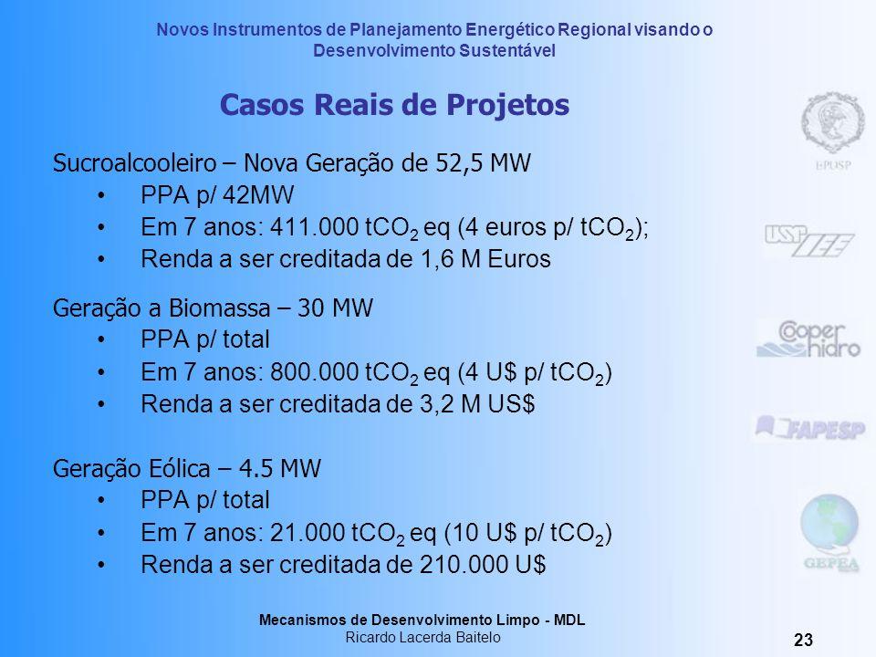 Casos Reais de Projetos