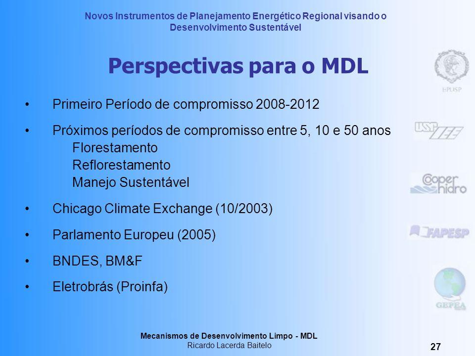 Perspectivas para o MDL