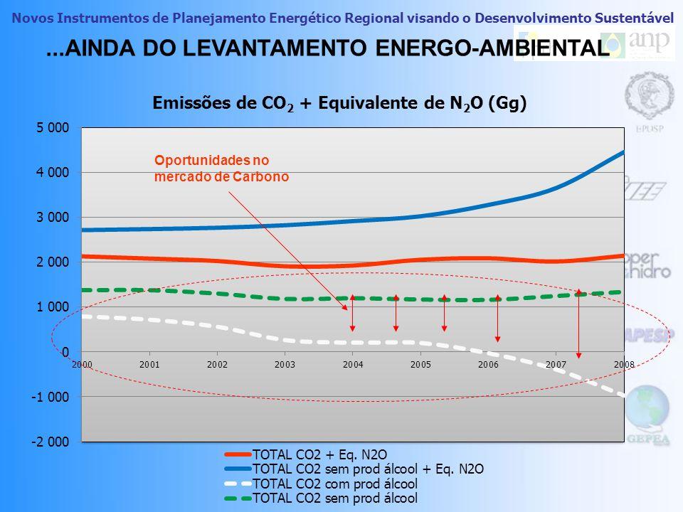 ...AINDA DO LEVANTAMENTO ENERGO-AMBIENTAL