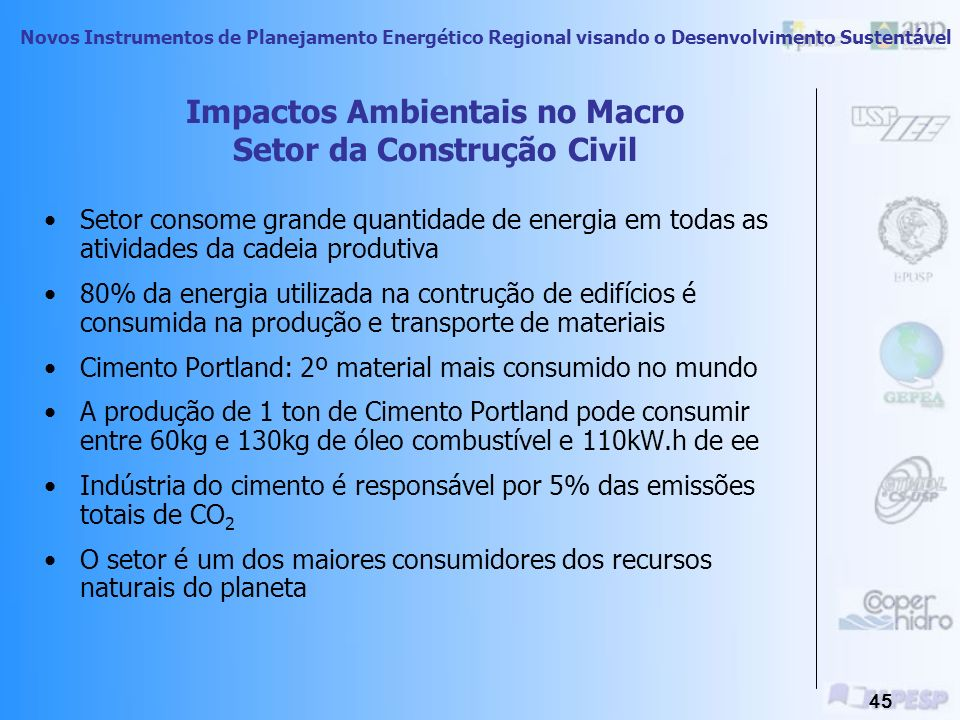 Impactos Ambientais no Macro Setor da Construção Civil