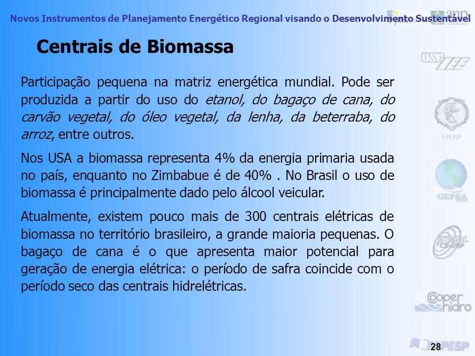 Centrais de Biomassa
