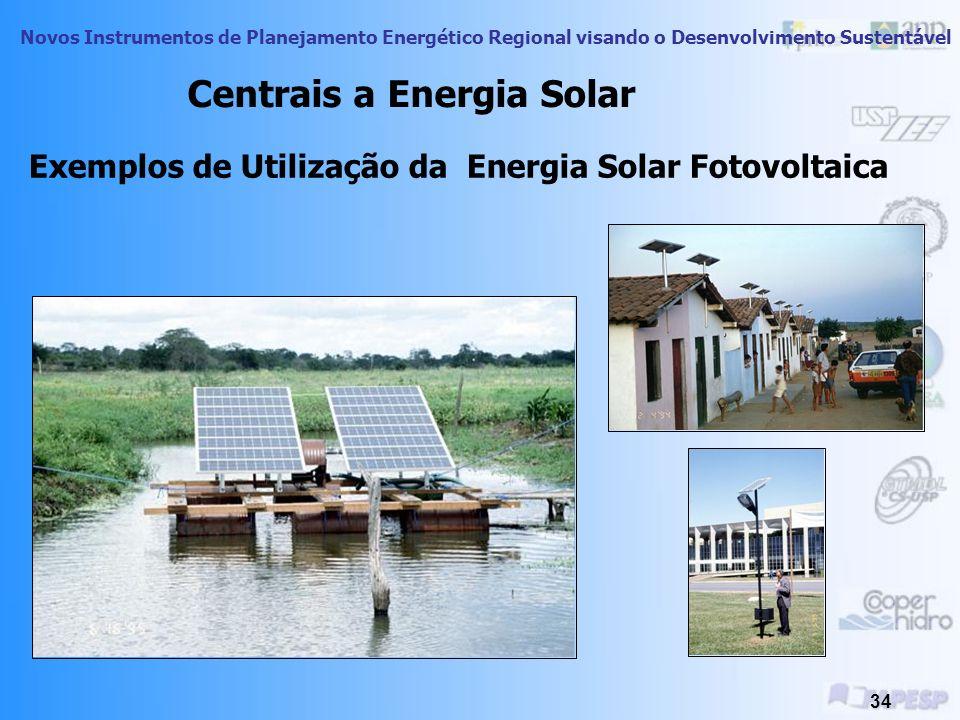 Exemplos de Utilização da Energia Solar Fotovoltaica