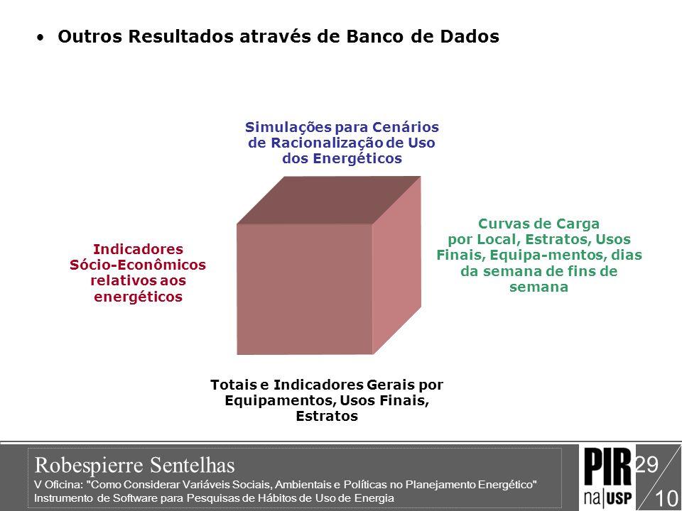 Outros Resultados através de Banco de Dados