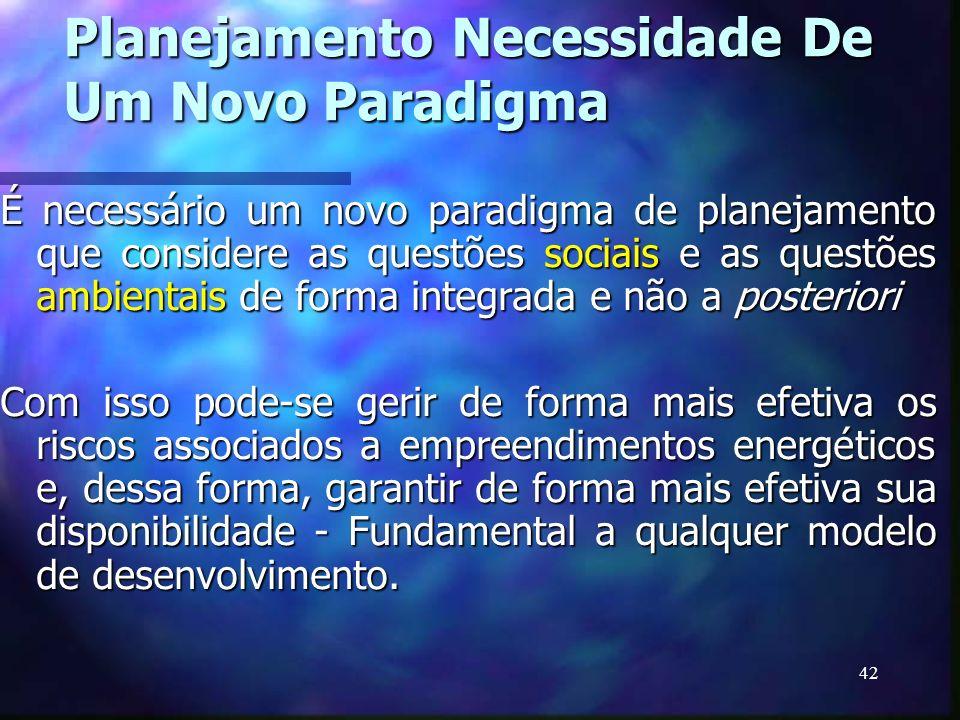 Planejamento Necessidade De Um Novo Paradigma