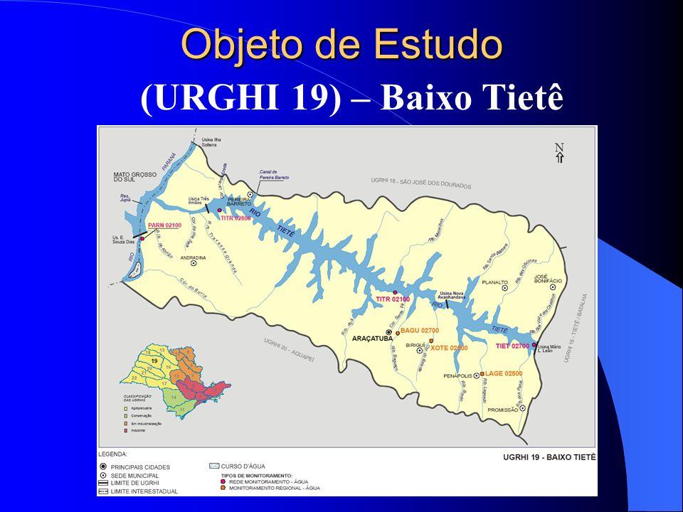 Objeto de Estudo (URGHI 19) – Baixo Tietê