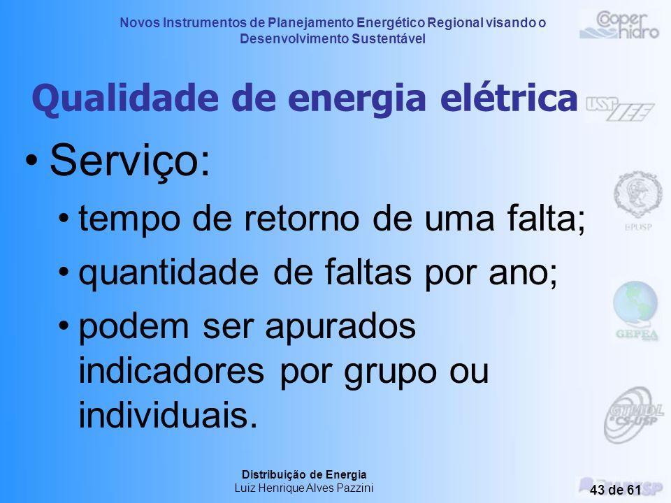 Qualidade de energia elétrica