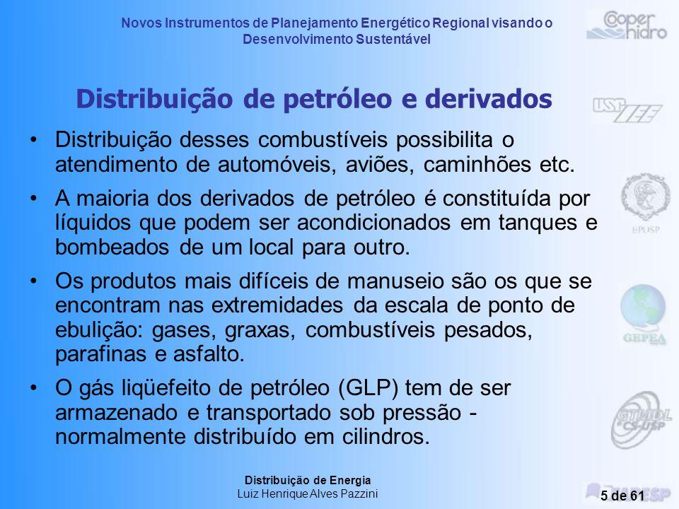Distribuição de petróleo e derivados