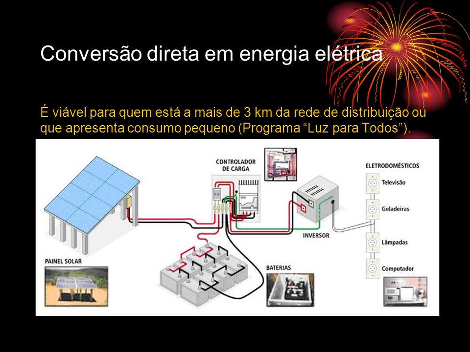 Conversão direta em energia elétrica