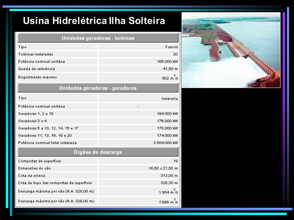 Usina Hidrelétrica Ilha Solteira