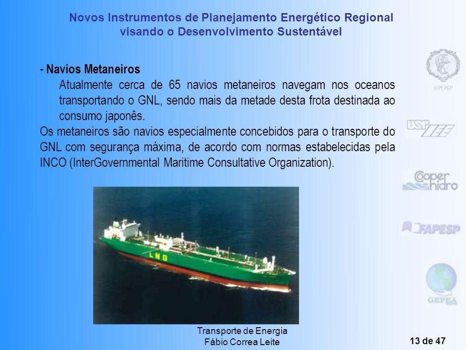 - Navios Metaneiros