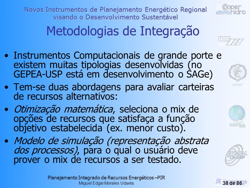 Metodologias de Integração