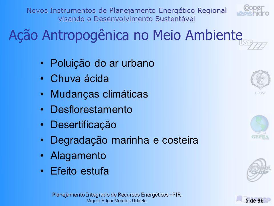 Ação Antropogênica no Meio Ambiente
