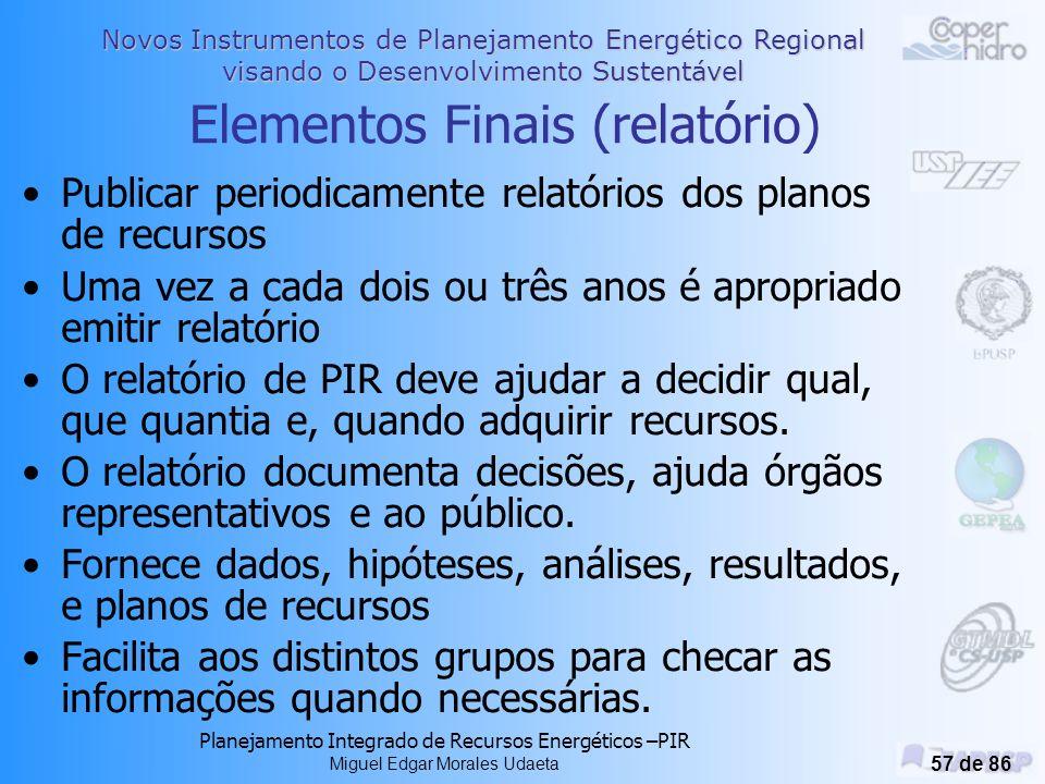 Elementos Finais (relatório)