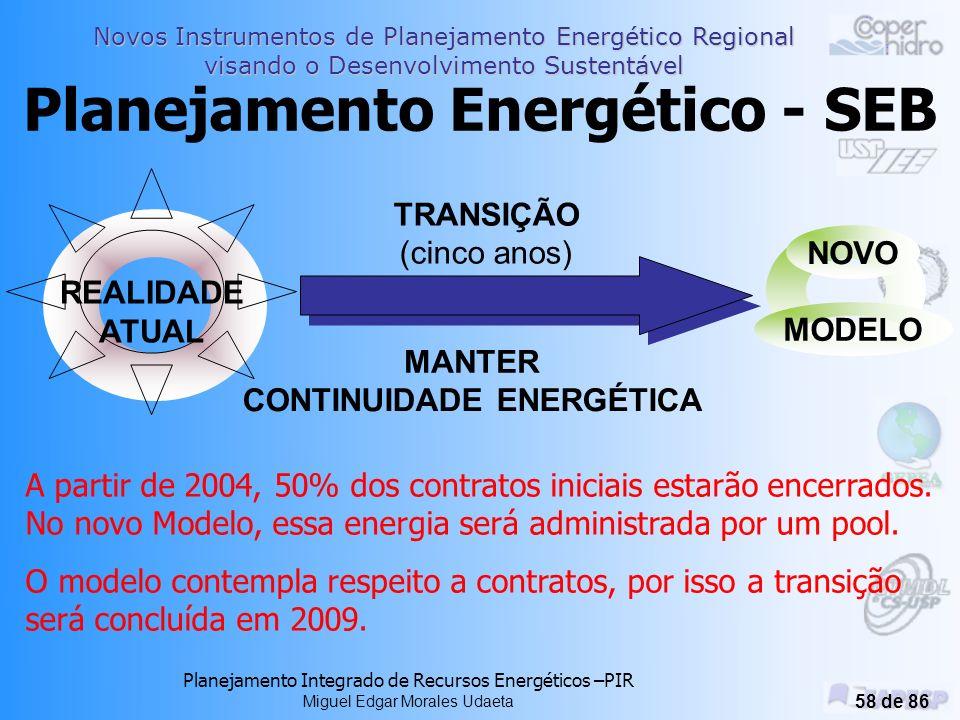 Planejamento Energético - SEB