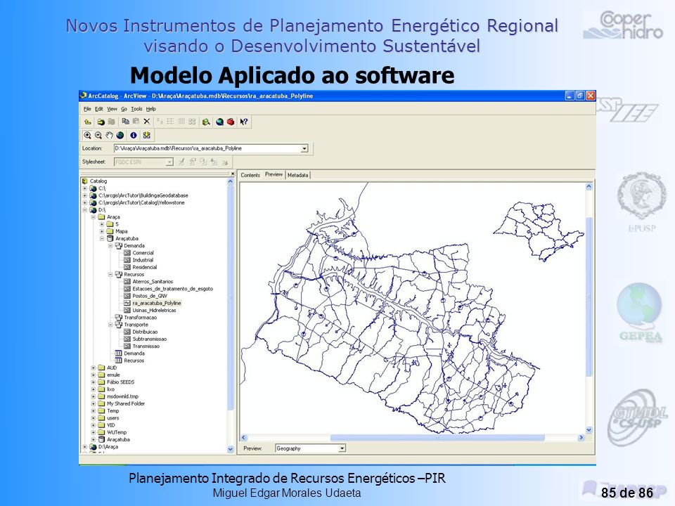 Modelo Aplicado ao software