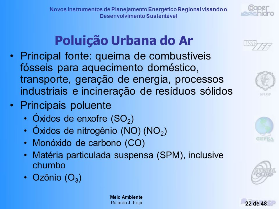 Poluição Urbana do Ar