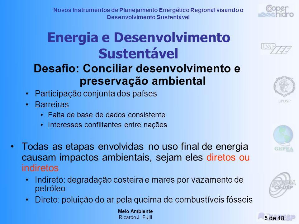 Energia e Desenvolvimento Sustentável