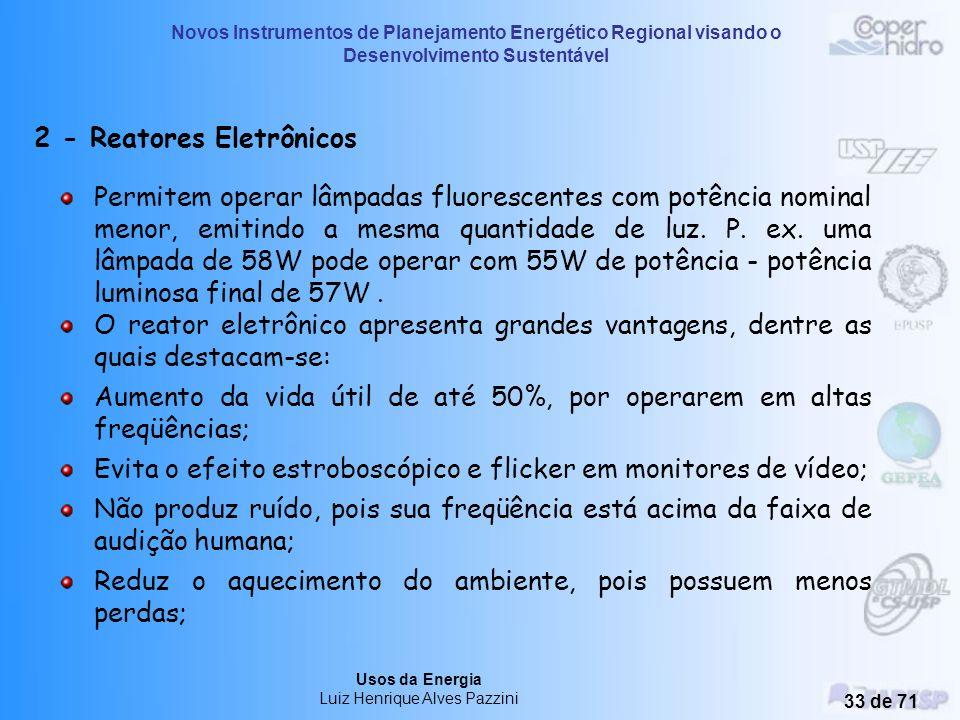 2 - Reatores Eletrônicos
