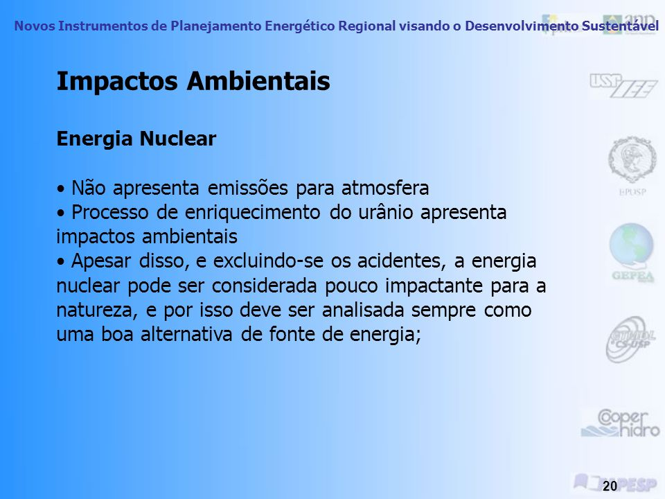 Impactos Ambientais Energia Nuclear