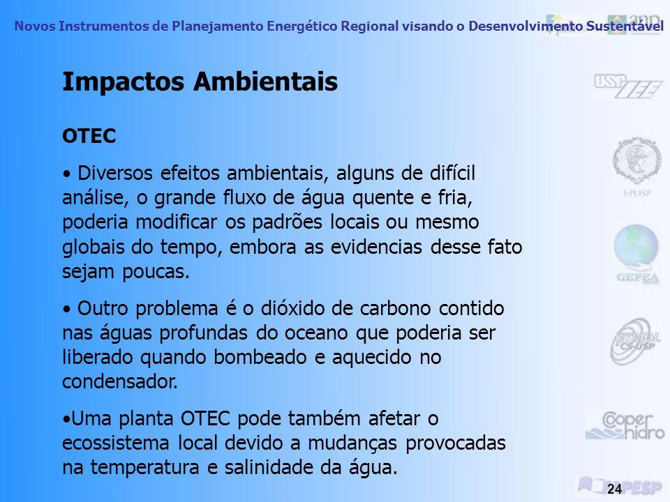 Impactos Ambientais OTEC