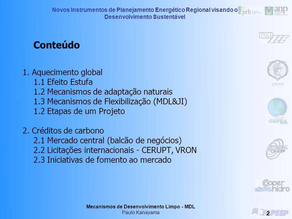 Mecanismos de Desenvolvimento Limpo - MDL