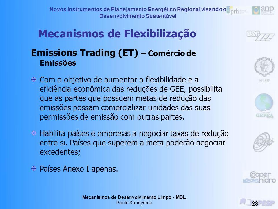 Mecanismos de Flexibilização