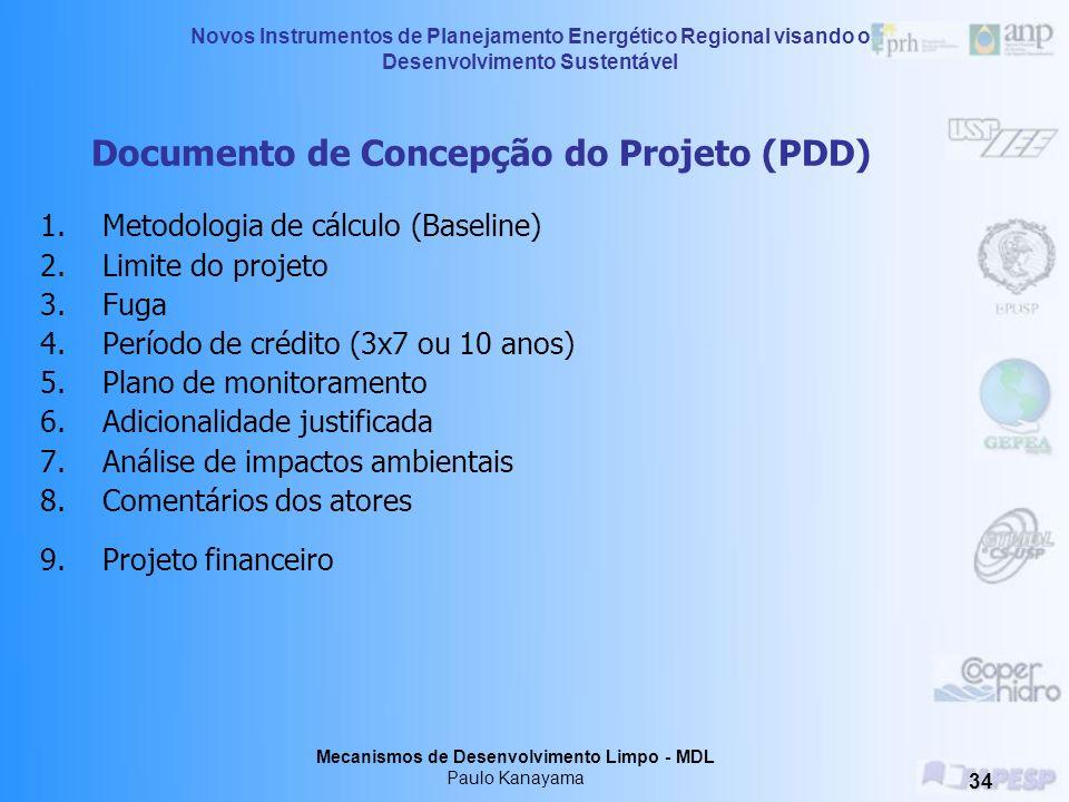 Documento de Concepção do Projeto (PDD)