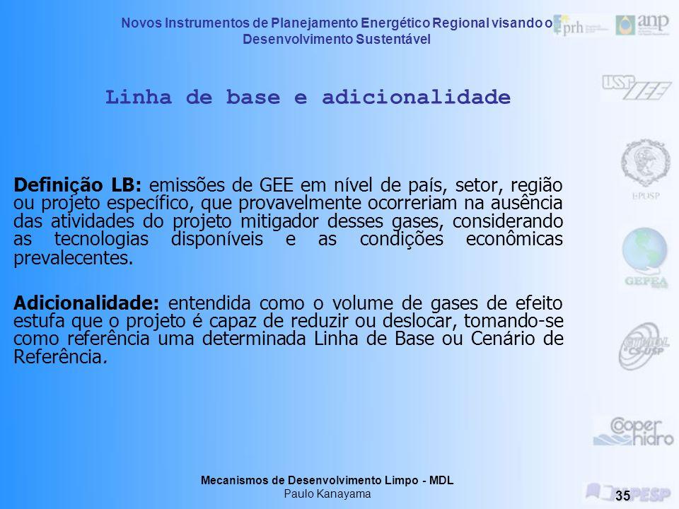 Linha de base e adicionalidade