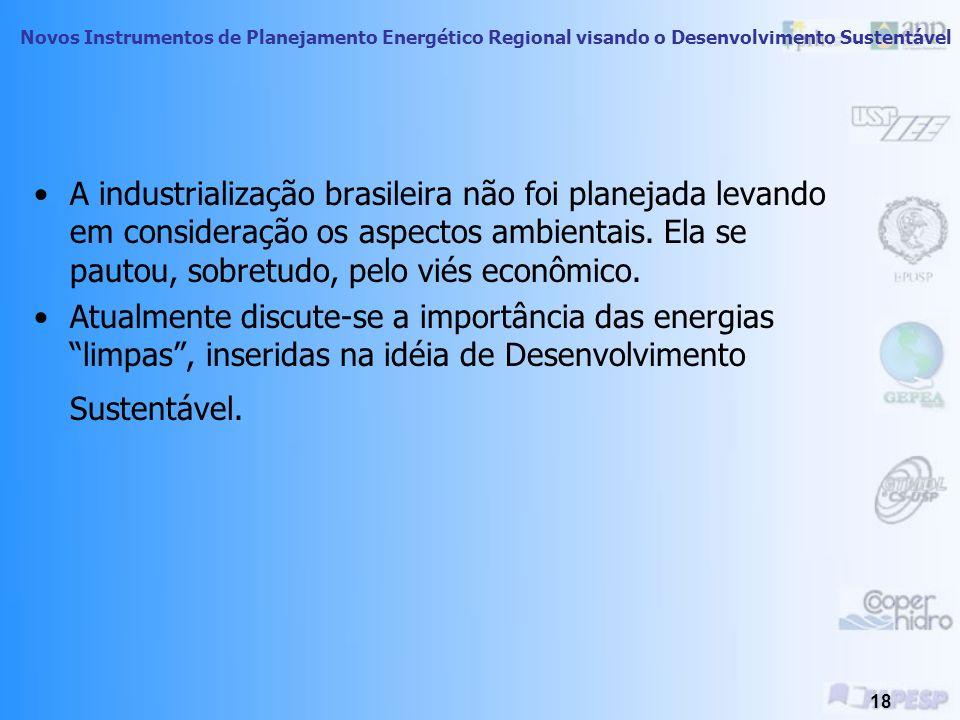A industrialização brasileira não foi planejada levando em consideração os aspectos ambientais. Ela se pautou, sobretudo, pelo viés econômico.