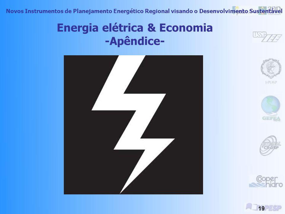 Energia elétrica & Economia -Apêndice-