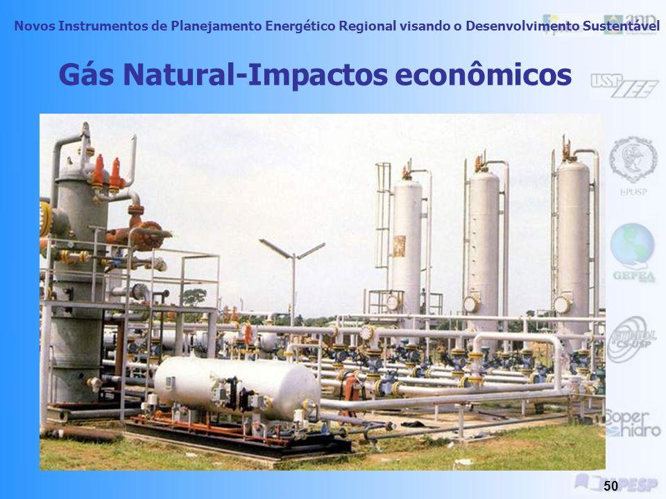 Gás Natural-Impactos econômicos