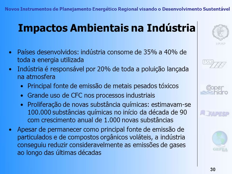 Impactos Ambientais na Indústria