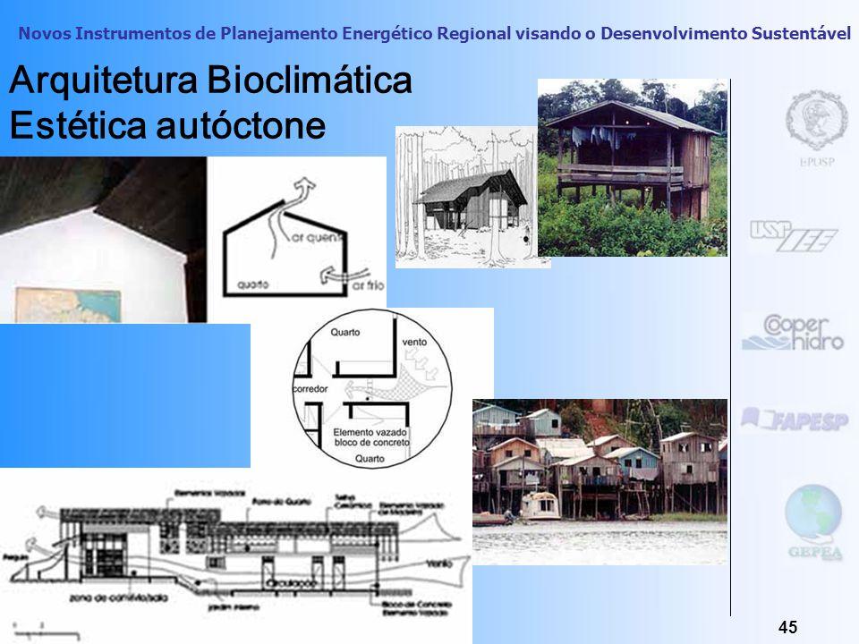 Arquitetura Bioclimática Estética autóctone