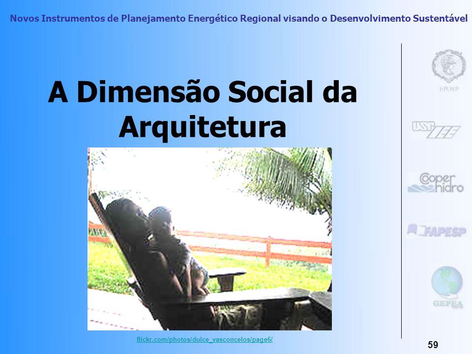 A Dimensão Social da Arquitetura