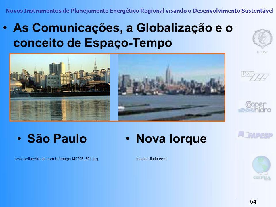 As Comunicações, a Globalização e o conceito de Espaço-Tempo